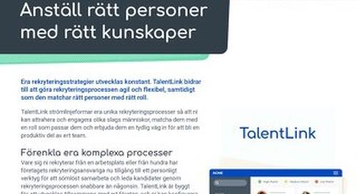 TalentLink Datasheet - SE