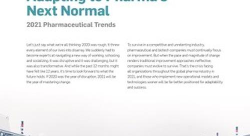 Adapting to Pharma's Next Normal