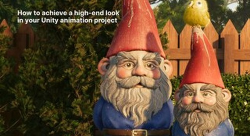Cinema-quality lighting in real-time: How to achieve a high-end look in your Unity animation project