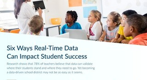 Real-Time Data Impacts Student Success