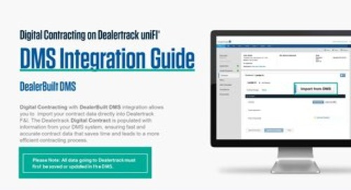 Digital Contracting DMS Integration Guide – DealerBuilt