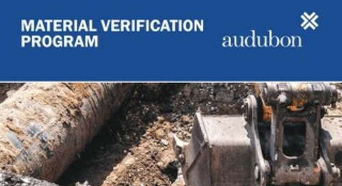 Material Verification Program Marketing