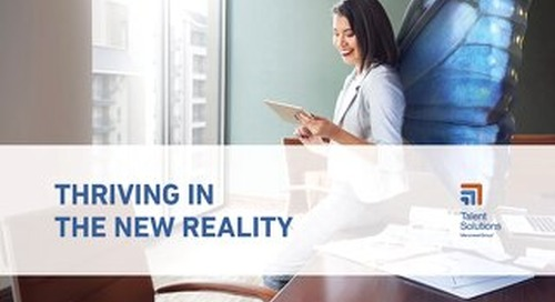 Thriving In The New Reality