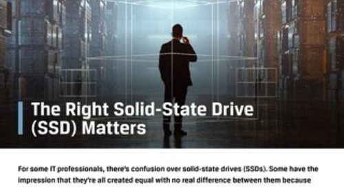 Kingston - The Right Solid-State Drive Matters