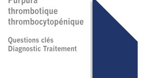 ISTH TTP Guideline - French