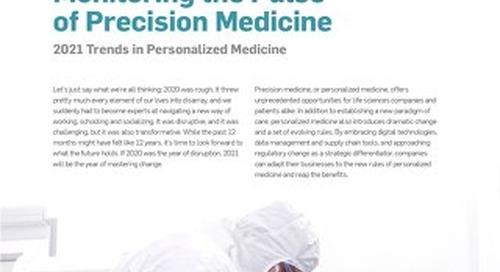 Monitoring the Pulse of Precision Medicine