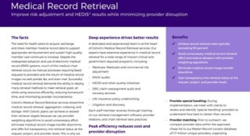 Medical Record Retrieval solution