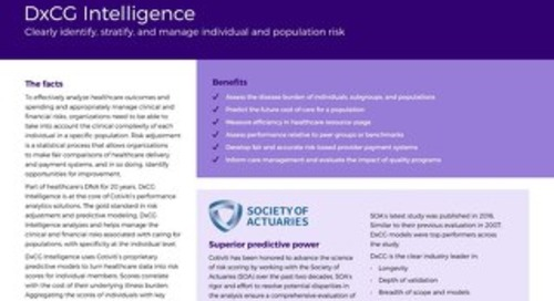 DxCG Intelligence solution