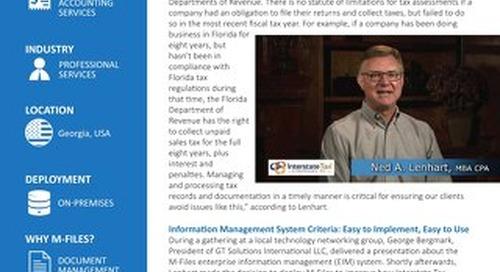 Case Study: Interstate Tax Strategies
