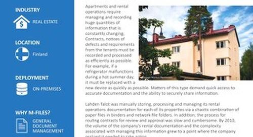 Case Study: Lahden Talot