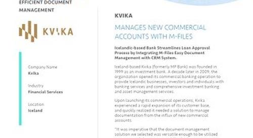 Case Study: Kvika