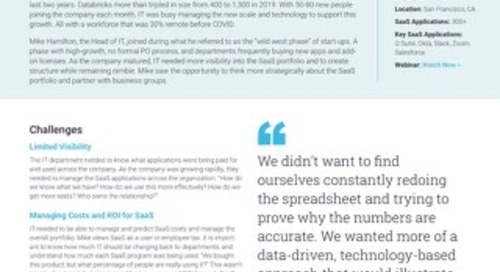 Databricks Case Study