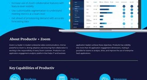 Productiv + Zoom