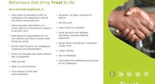 Trust Behaviors (EN)