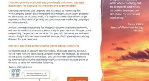 Bombora-Company Surge® for HubSpot