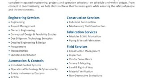 Integrated EPC Services & Solutions
