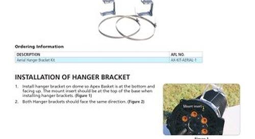 Apex™ Aerial Hanger Bracket Instructions
