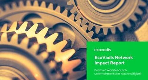 EcoVadis Network Impact Report (deutschsprachig)