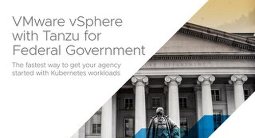 VMware vSphere with Tanzu for Federal Government