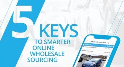 EBook: 5 Keys to Smarter Online Wholesale Sourcing