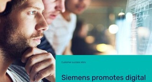 For Siemens, it's ARIS for process management