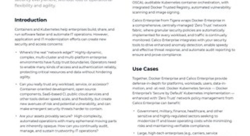 Consistent Security Anywhere - Mirantis & Tigera