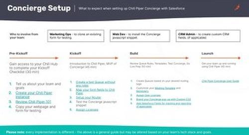 Concierge Onboarding Guide (Salesforce Setup)