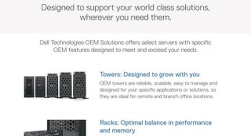 Putting OEMs Top of Mind with PowerEdge Servers