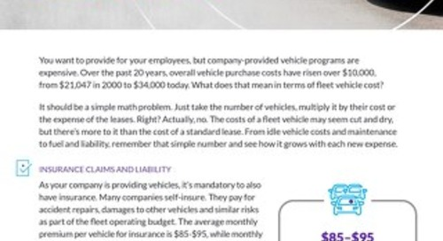 Small & Medium Business: The True Cost of Fleet Vehicles