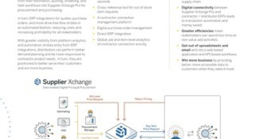 Construction Xchange Datasheet for Distributors