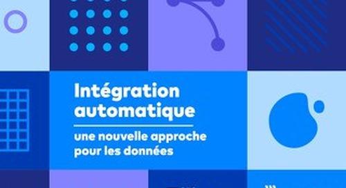 Intégration automatique - une nouvelle approche pour les données