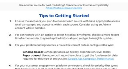 Top of Funnel Analysis Implementation Guide