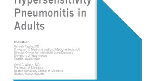 Hypersensitivity Pneumonitis in Adults