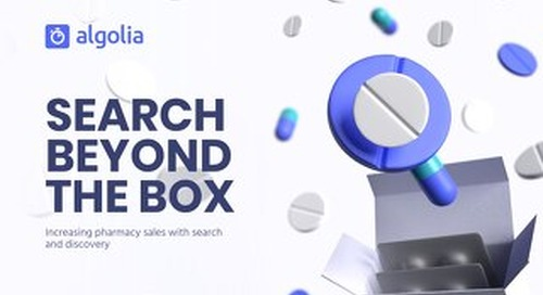 How search improves the online pharmacy shopper experience