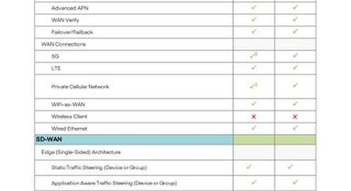 NetCloud Branch FIPS Service Plan Features