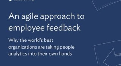 An agile approach to employee feedback