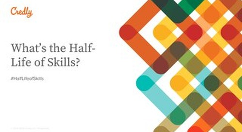 What is the Half-Life of Skills?