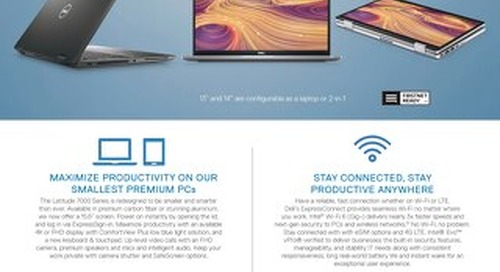Dell Latitude - Sleek Looks, Enhanced Productivity