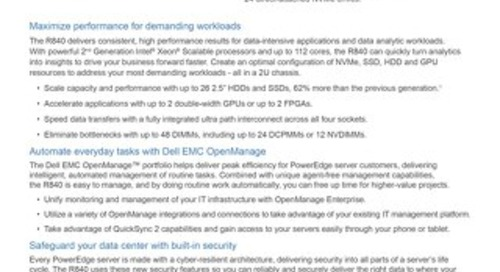 DellEMC - PowerEdge R840
