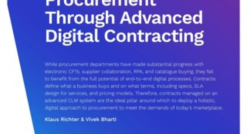 Realising a Holistic Approach to Procurement Through Advanced Digital Contracting