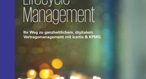 Ihr Weg zu ganzheitlichem, digitalem Vertragsmanagement mit Icertis & KPMG