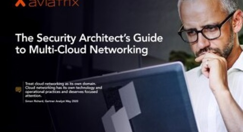 Security Architects Guide to Multi-Cloud Networking