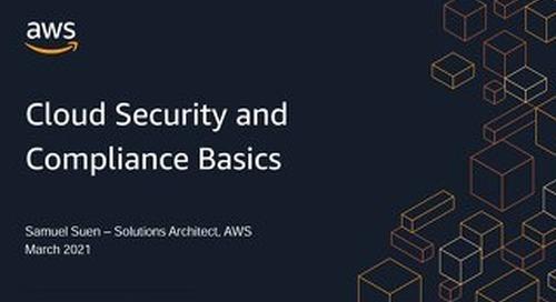 Presentation Slide - Cloud Security and Compliance Basics