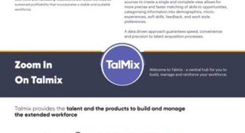 Talmix Workforce Solution