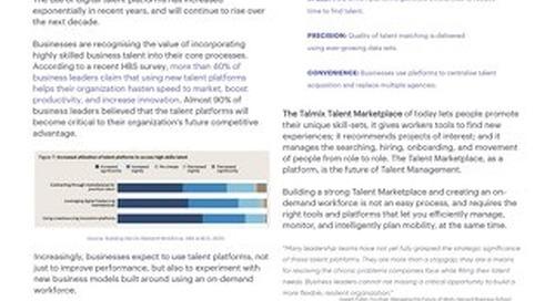 Using Talent Platforms