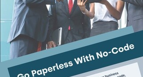 Go Paperless the Right Way with No Code