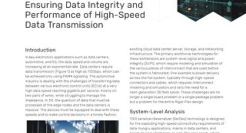 Ensuring Data Integrity and Performance of High-Speed Data Transmission