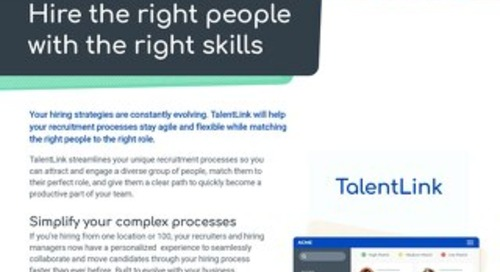 TalentLink Datasheet - EN