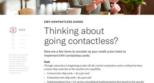 EMV Contactless Cards Considerations
