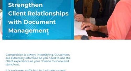 5 Wege um mit Dokumentenmanagement die Kundenbeziehungen zu stärken